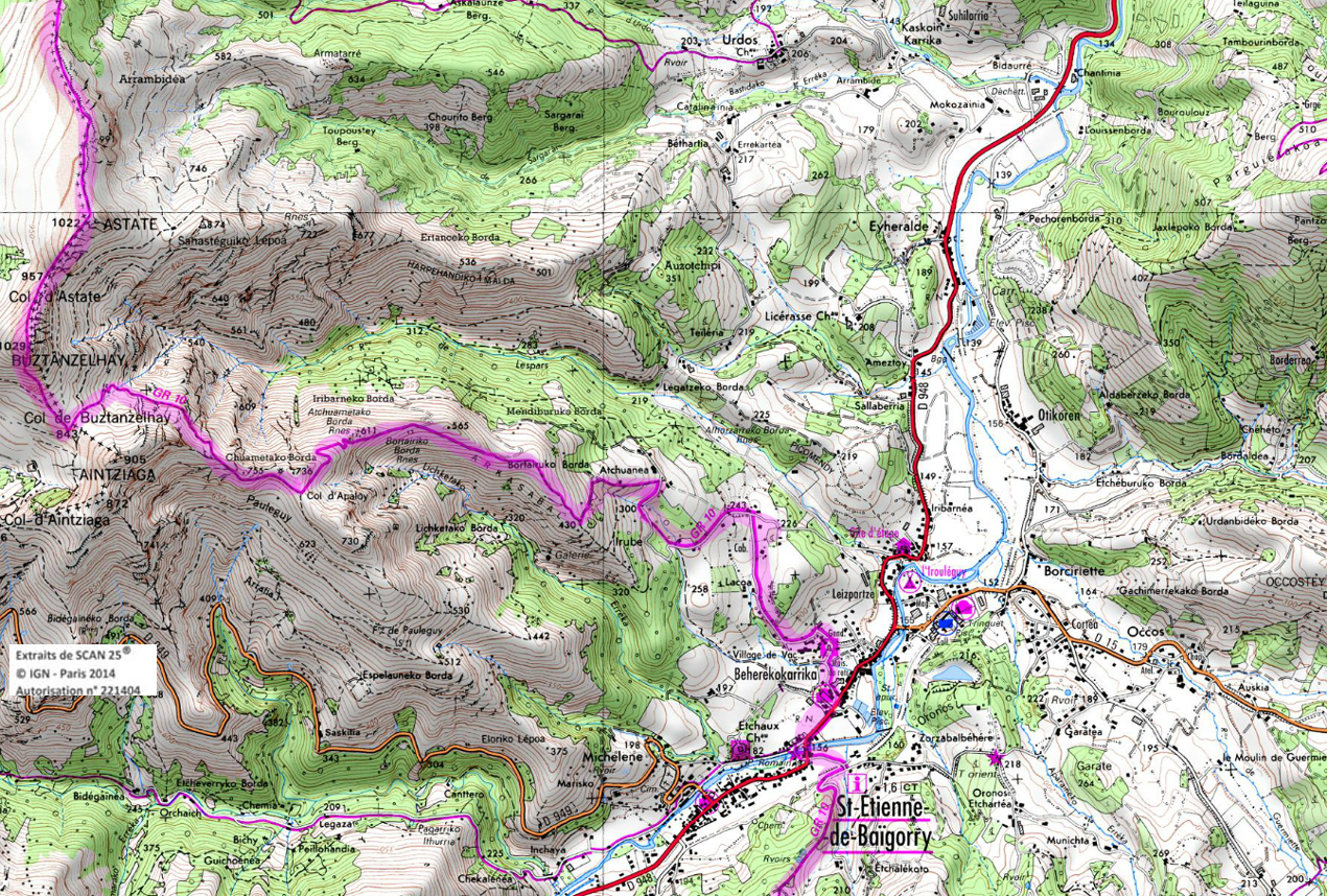10 gr 10 pays basques rando 1 2 3 4 jours pyrenees