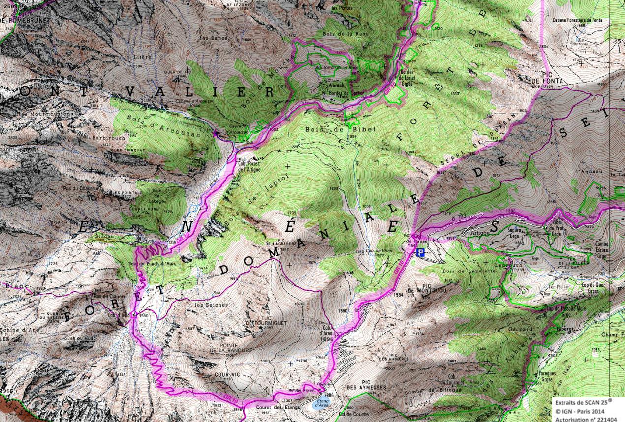 11 gr 10 ariege pyrenees rando 1 2 3 4 jours pyrenees