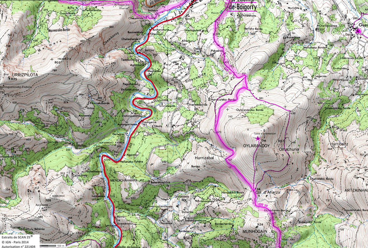 11 gr 10 pays basques rando 1 2 3 4 jours pyrenees