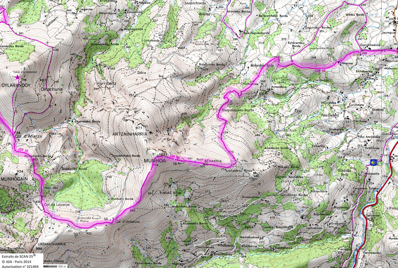12 gr 10 pays basques rando 1 2 3 4 jours pyrenees
