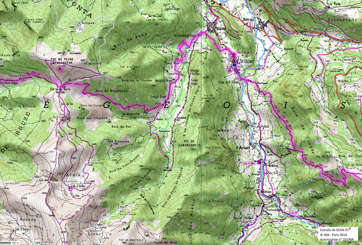 13 gr 10 ariege pyrenees rando 1 2 3 4 jours pyrenees
