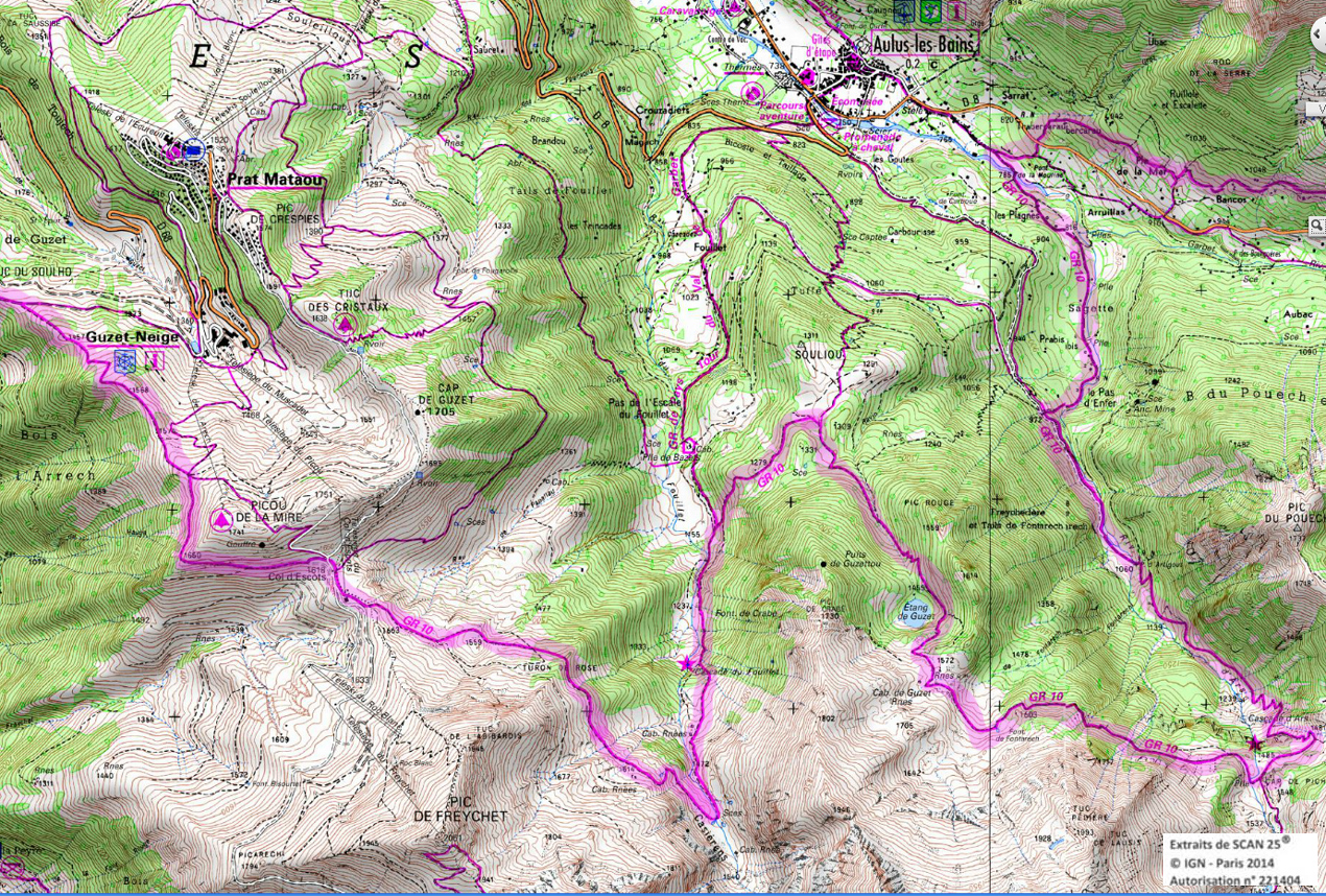 14 gr 10 ariege pyrenees rando 1 2 3 4 jours pyrenees