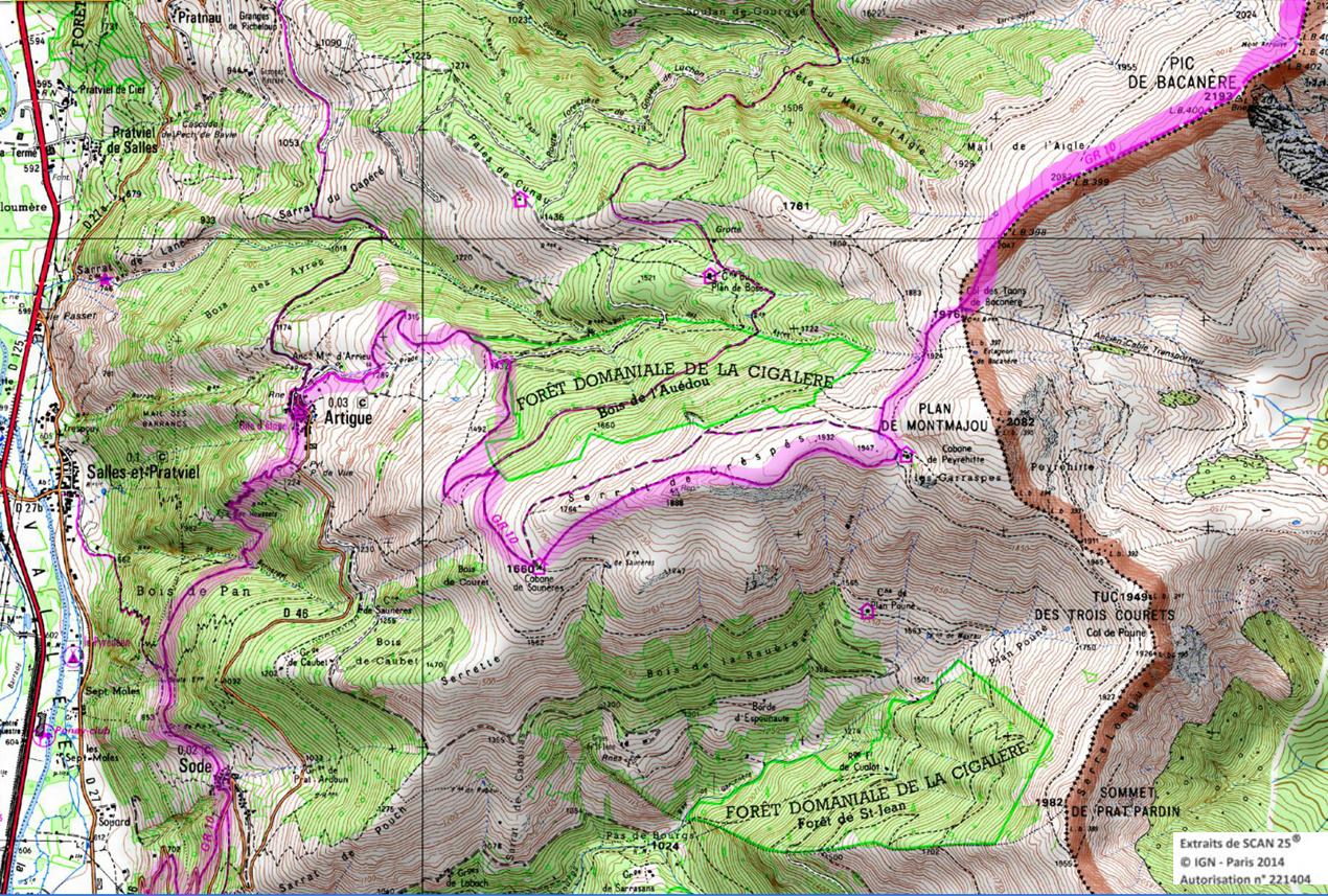 2 gr 10 ariege pyrenees rando 1 2 3 4 jours pyrenees