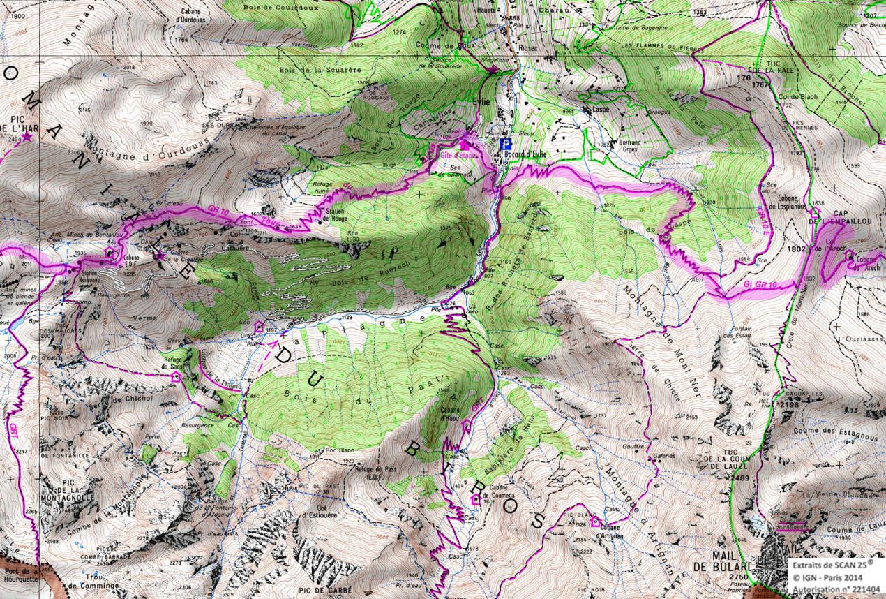6 gr 10 ariege pyrenees rando 1 2 3 4 jours pyrenees