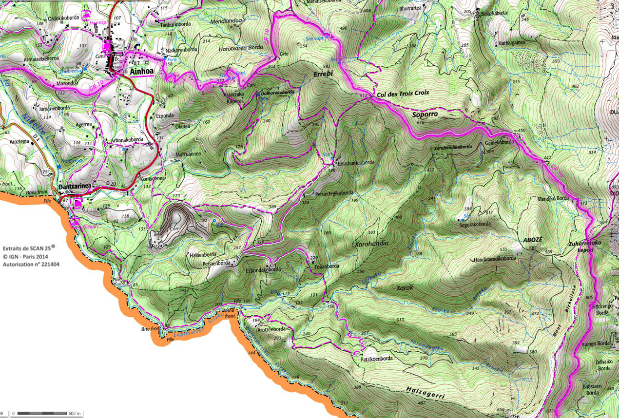 6 gr 10 pays basques rando 1 2 3 4 jours pyrenees
