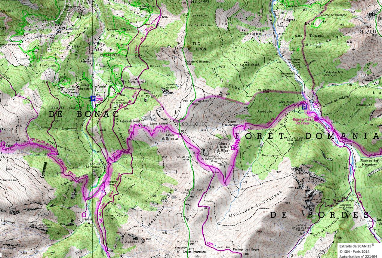 7 gr 10 ariege pyrenees rando 1 2 3 4 jours pyrenees