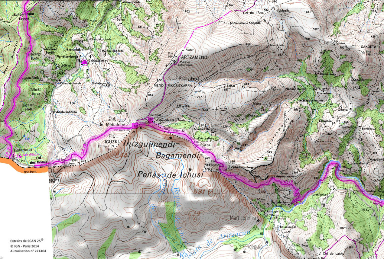 7 gr 10 pays basques rando 1 2 3 4 jours pyrenees