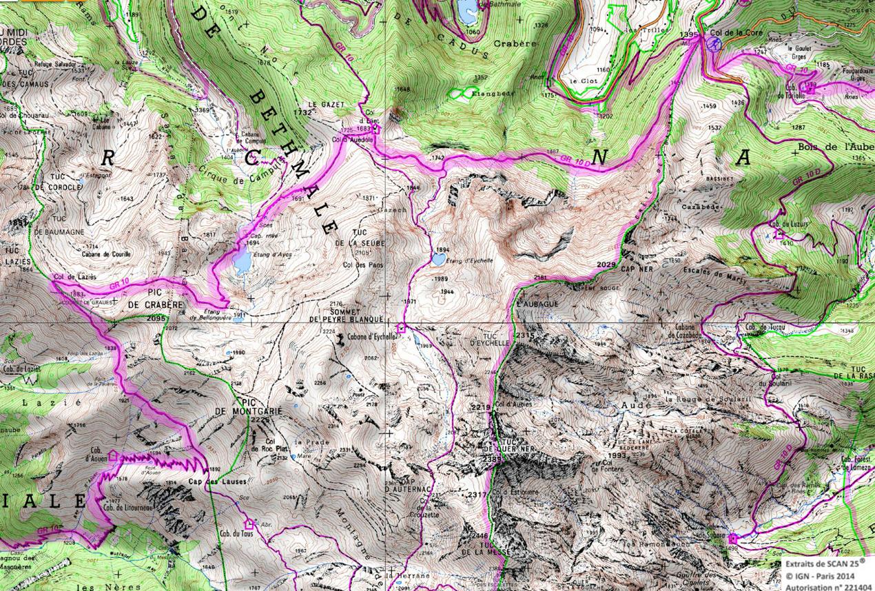 8 gr 10 ariege pyrenees rando 1 2 3 4 jours pyrenees